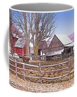 Cows At Jenne Farm Coffee Mug