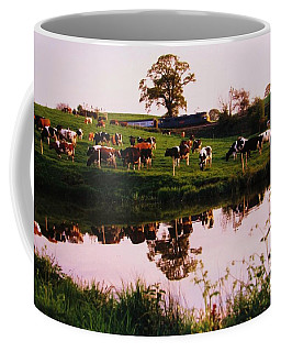 Cows In The Canal Coffee Mug