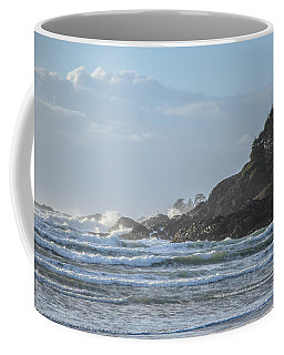 Cox Bay Afternoon Waves Coffee Mug