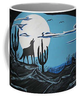 Coyote Coffee Mug by Jeffrey Koss