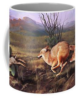 Coyote Run Coffee Mug