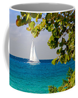 Cozumel Sailboat Coffee Mug