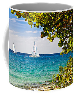 Cozumel Sailboats Coffee Mug