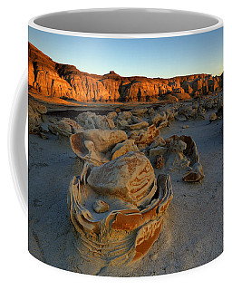 Cracked Eggs In The Bisti Badlands  Coffee Mug