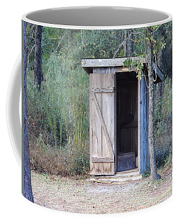 Cracker Out House Coffee Mug by D Hackett