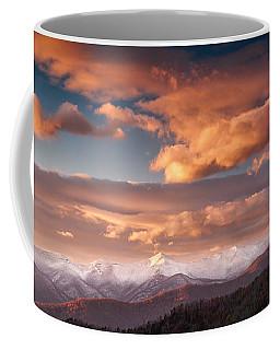 Craggy Snow Coffee Mug