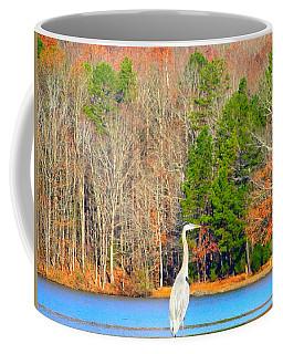 Crane And Color Coffee Mug
