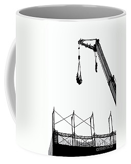 Crane And Construction Site Coffee Mug