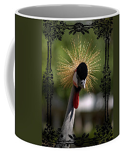 Coffee Mug featuring the photograph Crane by Athala Carole Bruckner
