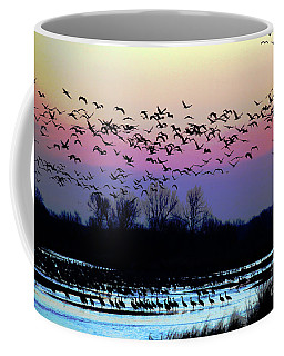 Crane Watch 2013 Coffee Mug by Elizabeth Winter