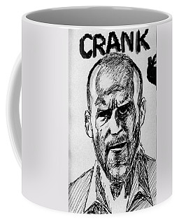 Coffee Mug featuring the painting Jason Statham by Salman Ravish