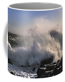 Crashing Surf Coffee Mug by Marty Saccone