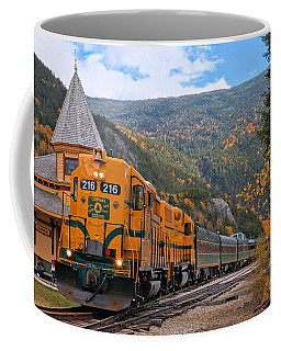 Crawford Notch Train Depot Coffee Mug