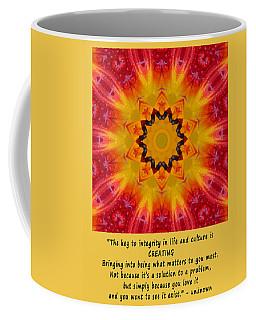 Creating Mandala Coffee Mug
