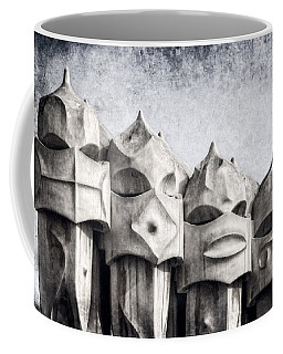 Creatures Of La Pedrera Bw Coffee Mug