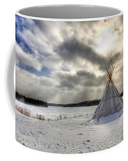 Cree Tepee Coffee Mug