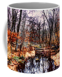 Creek At Pyramid Mountain Coffee Mug