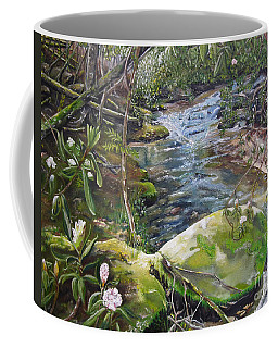 Creek -  Beyond The Rock - Mountaintown Creek  Coffee Mug