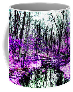 Creek By Purple Coffee Mug