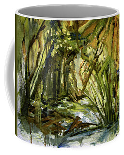Creek Levels With Overhang Coffee Mug