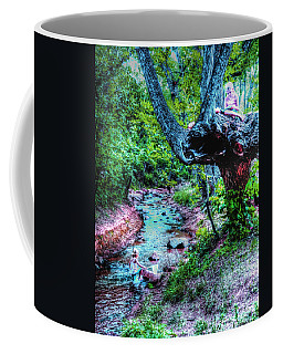 Coffee Mug featuring the photograph Creek Time Enchantment by Lanita Williams