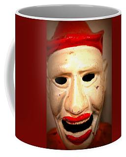 Coffee Mug featuring the photograph Creepy Clown by Lynn Sprowl