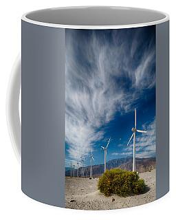 Creosote And Wind Turbines Coffee Mug
