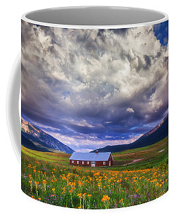 Crested Butte Morning Storm Coffee Mug