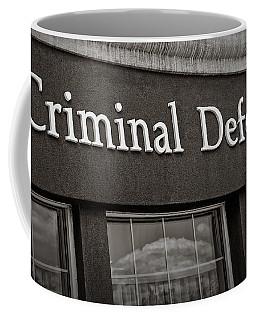 Criminal Defense Law Practice Coffee Mug
