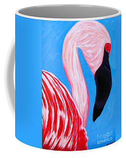 Crimson Flamingo Coffee Mug