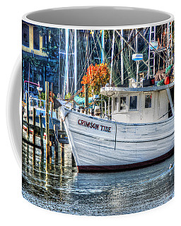 Crimson Tide In Harbor Coffee Mug