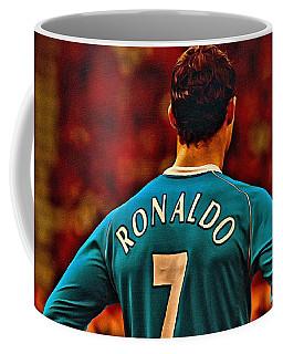 Cristiano Ronaldo Poster Art Coffee Mug