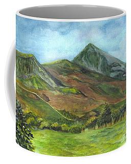 Croagh Saint Patricks Mountain In Ireland  Coffee Mug by Carol Wisniewski