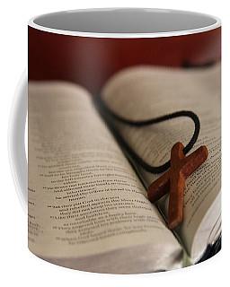 Cross And Bible Coffee Mug