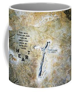 Cross And Heart Coffee Mug