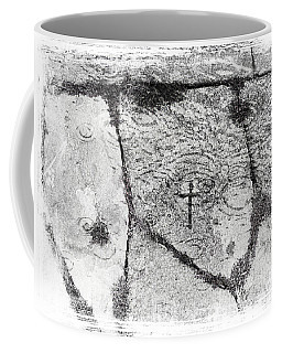 Cross Carved In Churchdoor Flagstone In Ireland Coffee Mug