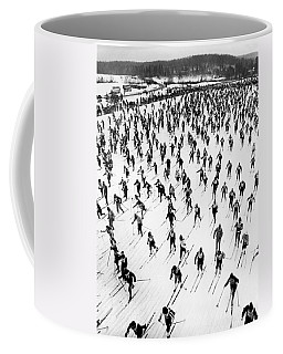 Cross Country Ski Race Coffee Mug