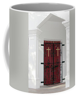 Key West Church Doors Coffee Mug