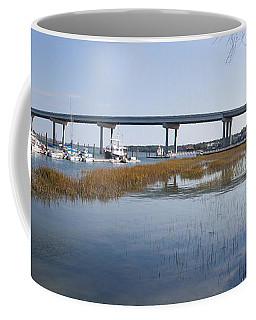 Cross Island Bridge Hilton Head Coffee Mug