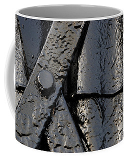 Coffee Mug featuring the photograph Cross Over by Wendy Wilton