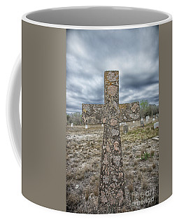 Cross With No Name Coffee Mug by Erika Weber
