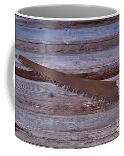 Crosscut Saw Coffee Mug