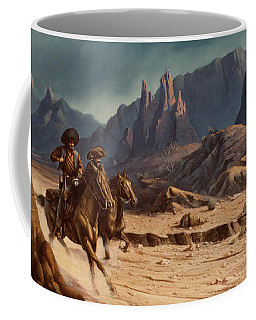 Crossing The Border Coffee Mug