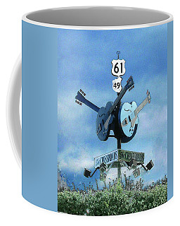 Crossroads In Clarksdale Coffee Mug