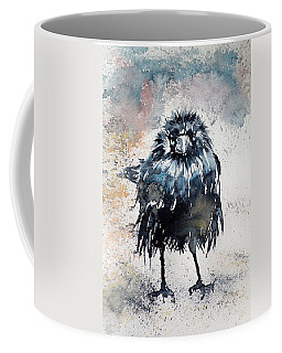 Crow After Rain Coffee Mug