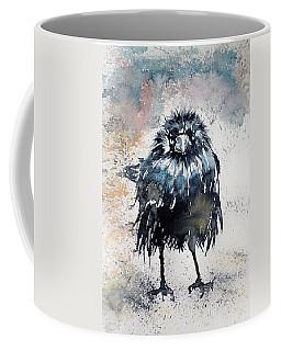Crow After Rain Coffee Mug by Kovacs Anna Brigitta
