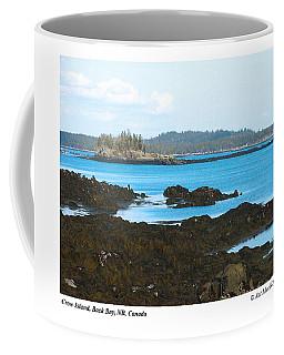 Crow Island Bay Of Fundy Nb Coffee Mug