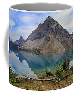 Crowfoot Mountain Banff Np Coffee Mug