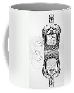Crown Royal Black And White Coffee Mug