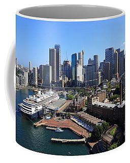 Cruiser Ship In Sydney Coffee Mug